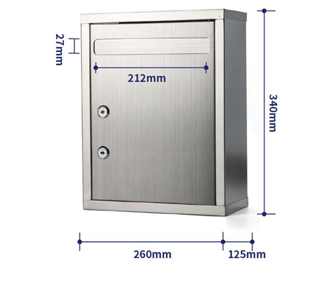 不锈钢意见箱信报箱